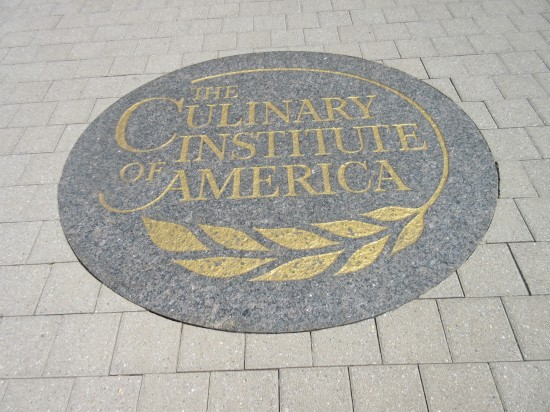 CIA sidewalk sign!