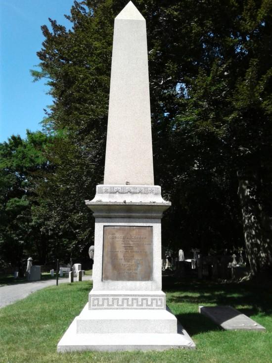 Custer's obelisk!