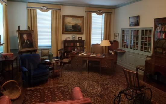 FDR's office!