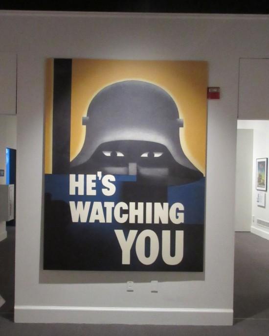 He's Watching You!