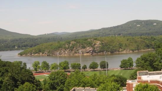 Hudson River afar!