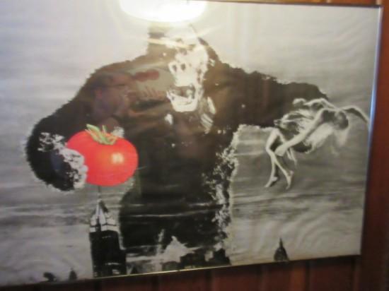 King Kong and tomato!