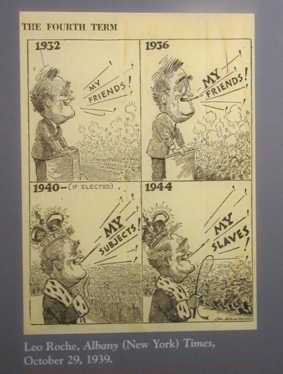 Leo Roche 1939 political cartoon!