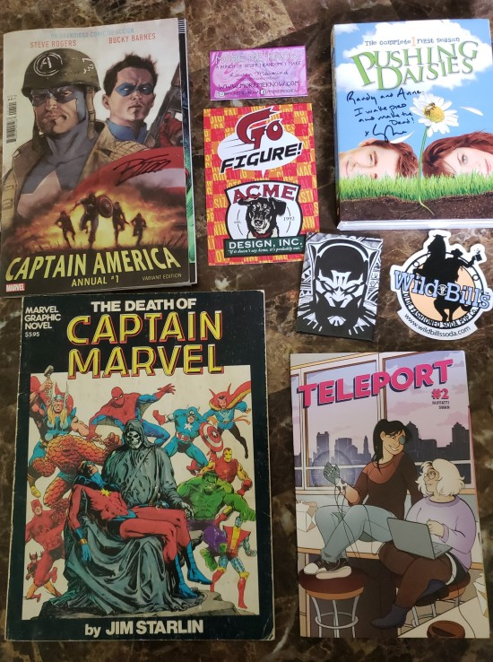 Ace Comic Con stuff!