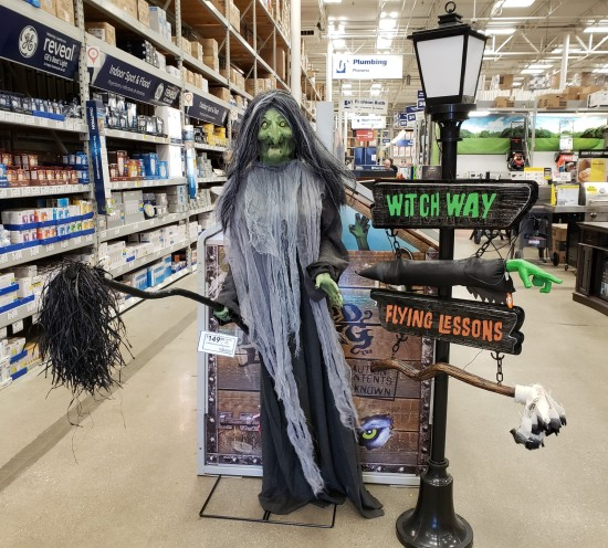 Lowes Witch!