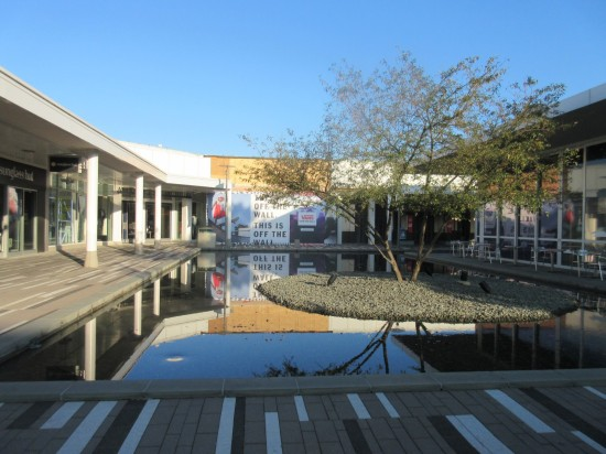 mall reflecting pond!