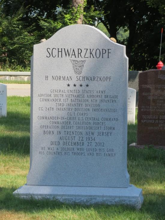 Norman Schwarzkopf.