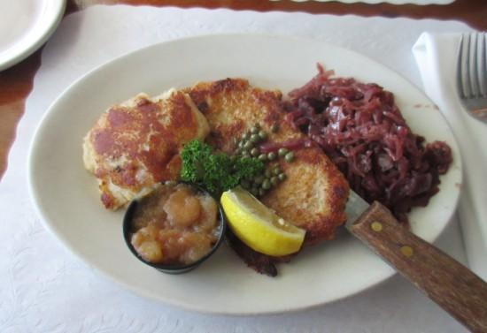 pork schnitzel!