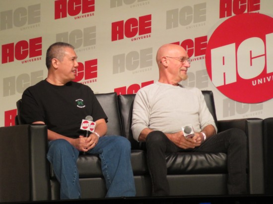 Ron Lim and Jim Starlin!