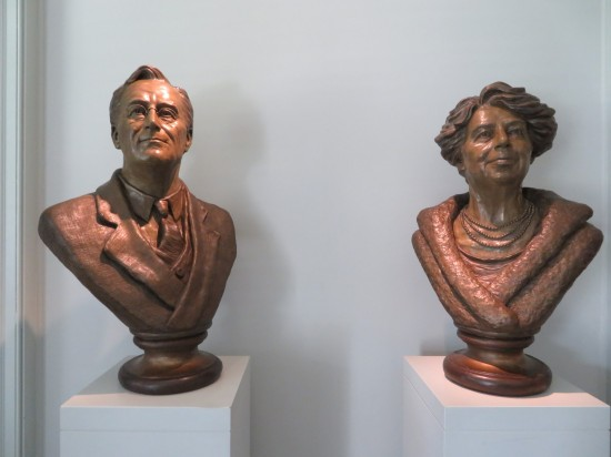 Roosevelts busts!
