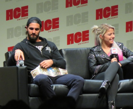 Seth Rollins and Alexa Bliss!