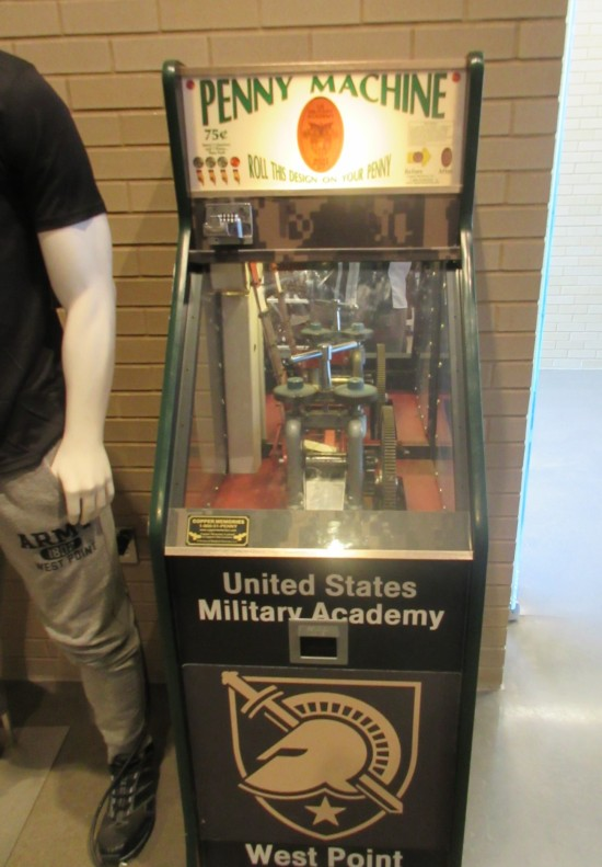 smashed penny machine!