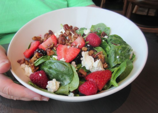 spinach berry salad!