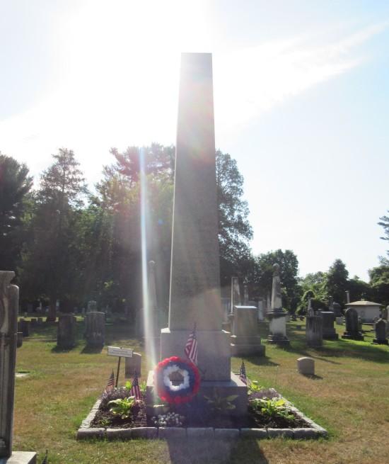 Van Buren obelisk!