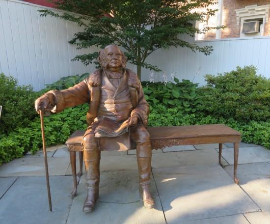 Van Buren statue!