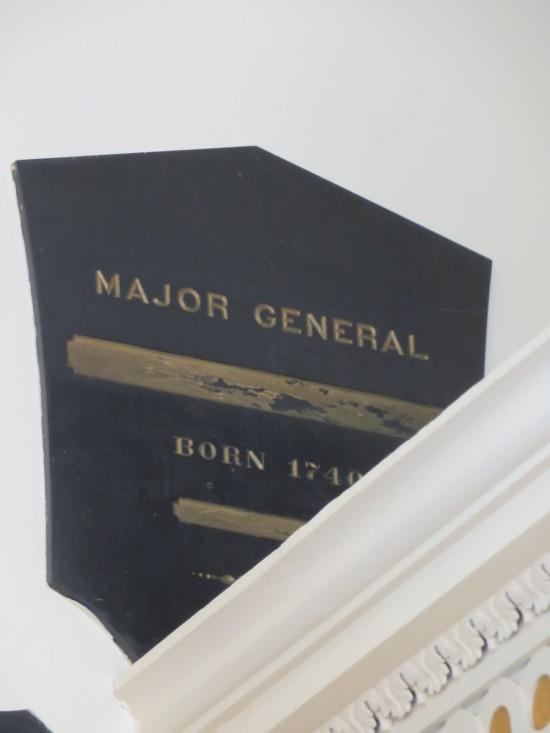 Benedict Arnold plaque!
