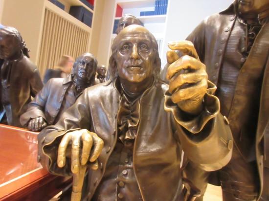 Benjamin Franklin!
