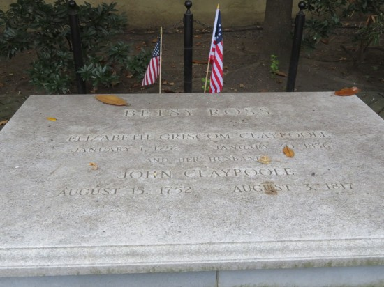 Betsy Ross grave!