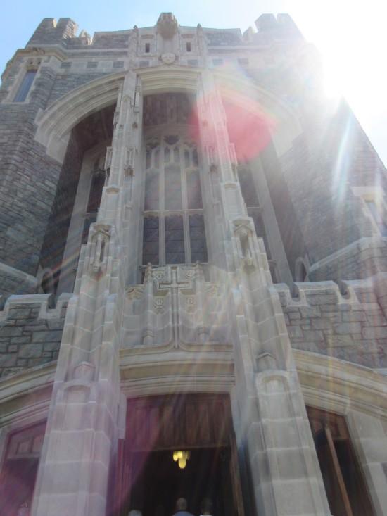 Cadet Chapel closeup!