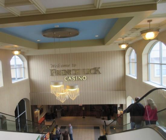 Casino escalator!