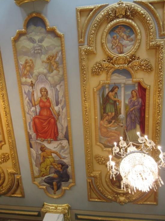 Ceiling paintings!