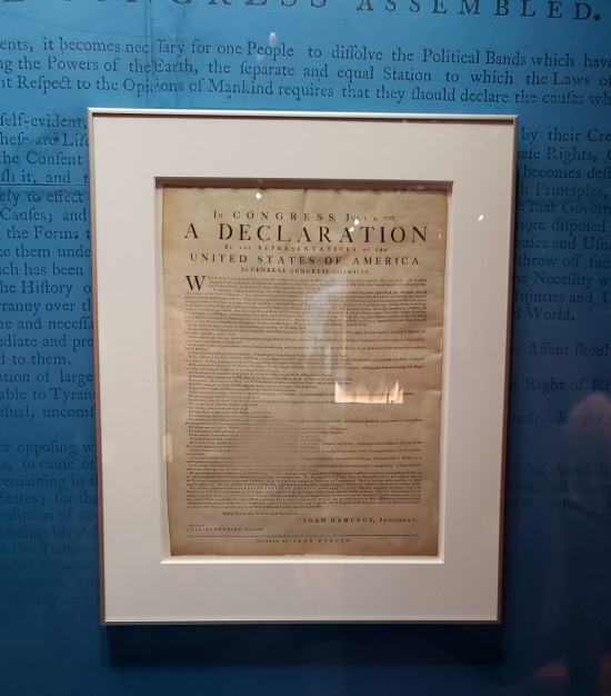 Declaration broadside!