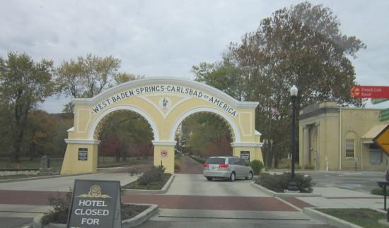 entrance arches!