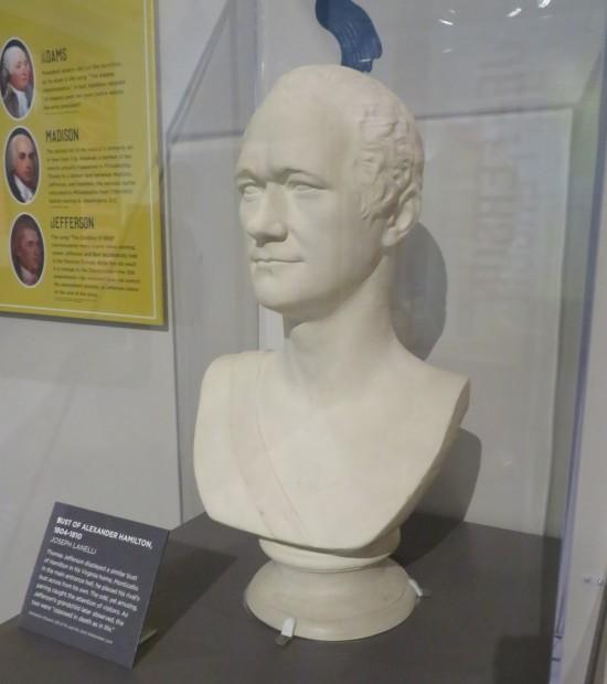 Hamilton bust!