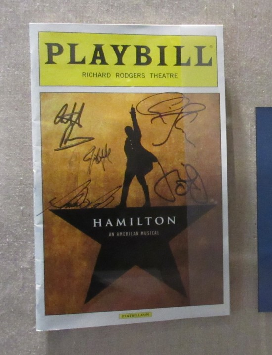 Hamilton Playbill!