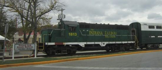 Indiana Railway Museum train!