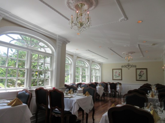 Inn dining room!