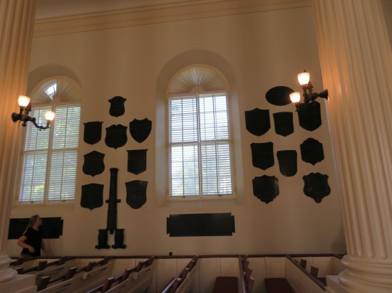 Old Chapel plaques!