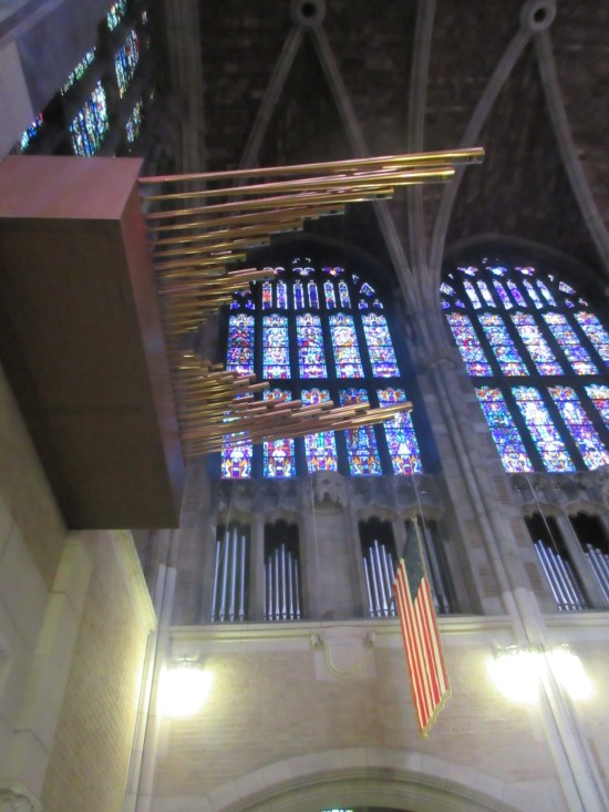 organ pipes!
