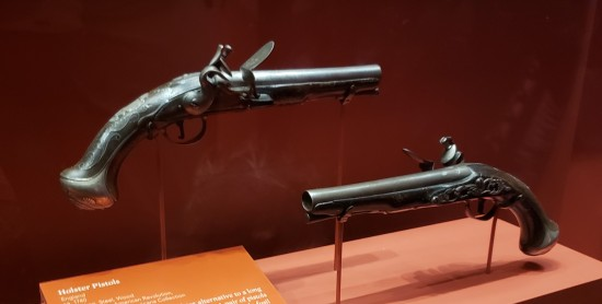 silver officers pistols!
