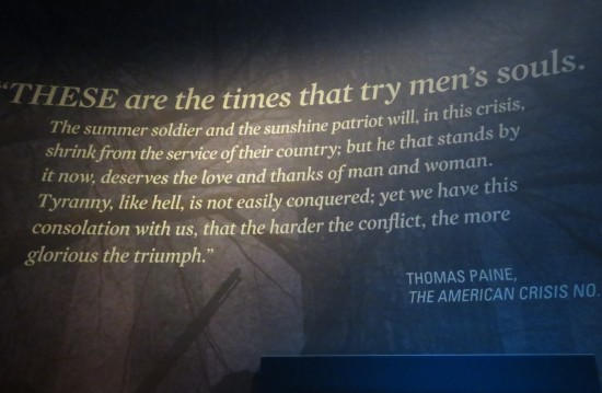 Thomas Paine quote!