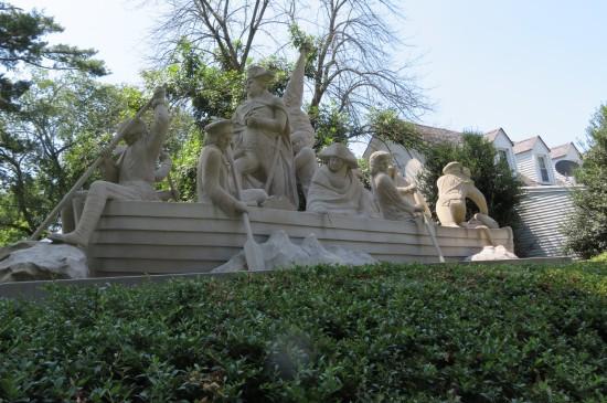 Washington Crossing sculpture!