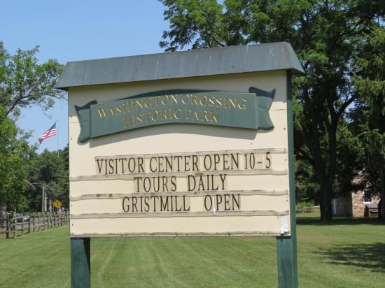 Washington Crossing Historic Park!