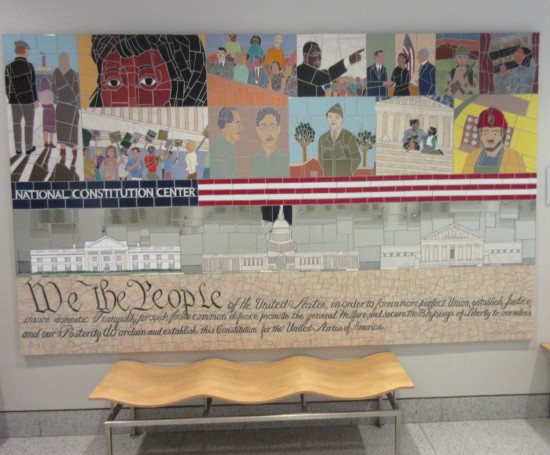 We the People Mosaic!
