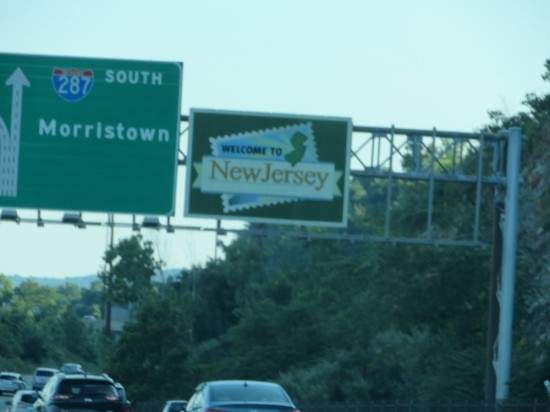 Welcome to New Jersey!