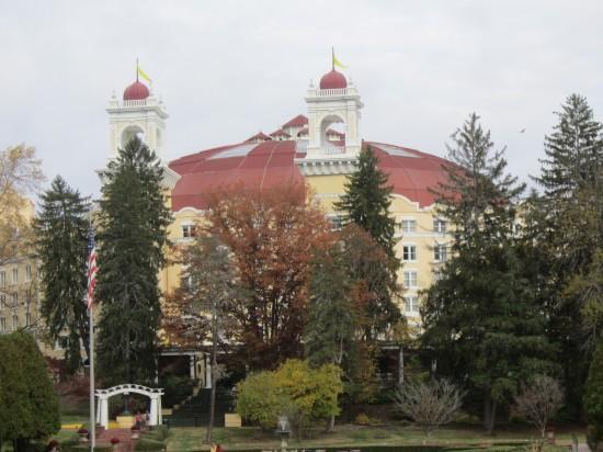 West Baden hotel!