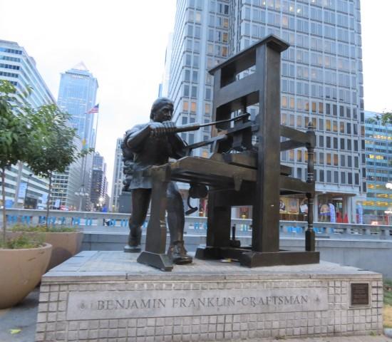 Benjamin Franklin Craftsman!