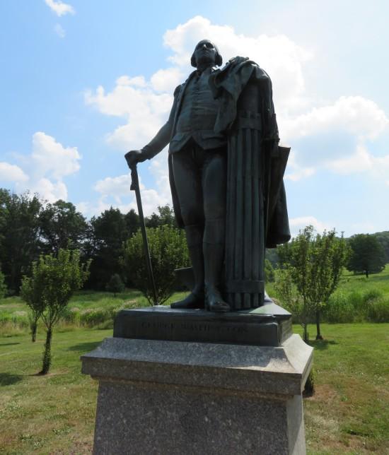 George Washington statue!