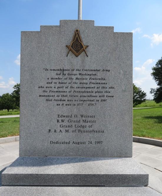 Masonic memorial!