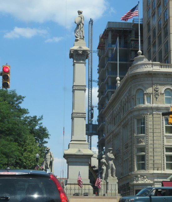Soldiers and Sailors Monument!
