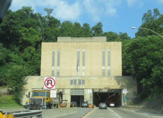 Squirrel Hill Tunnel!