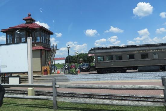 Strasburg train!