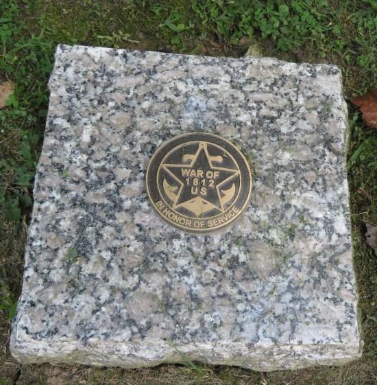 War of 1812 marker!
