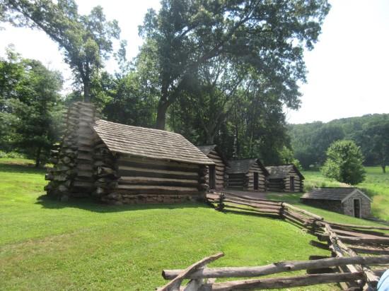 Washington's guards' cabins!