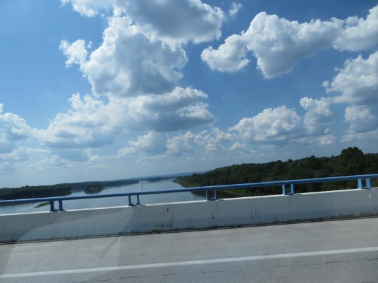 bridge and river!
