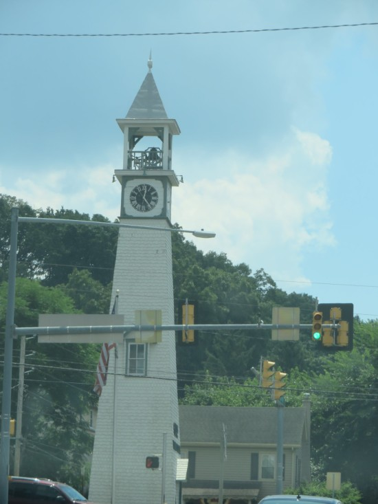 Gap clock tower!